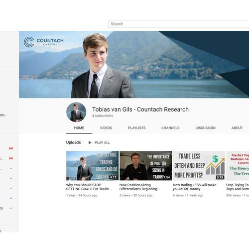 Youtube Banner Design