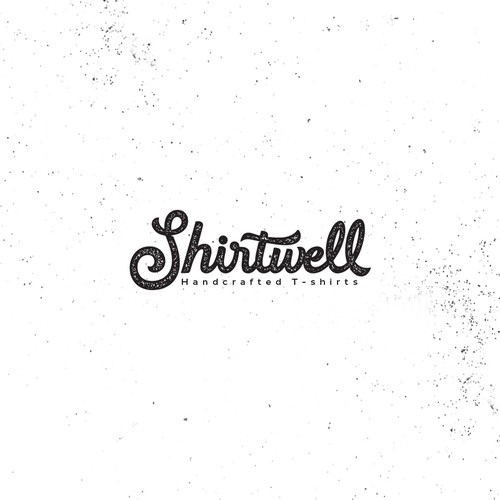 Create a script/hipster logo for Shirtwell.