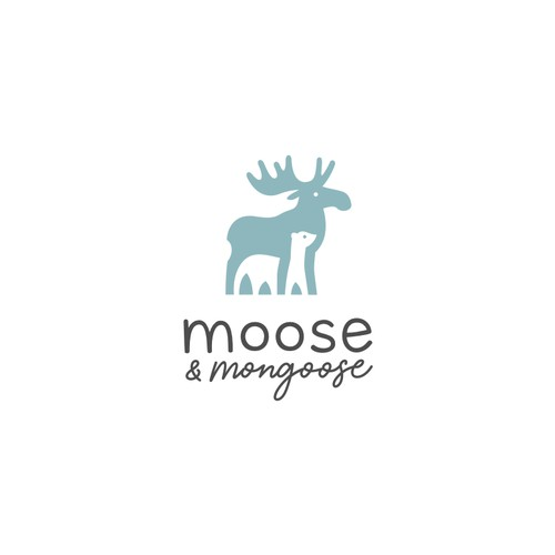 Logo for moose and mongoose