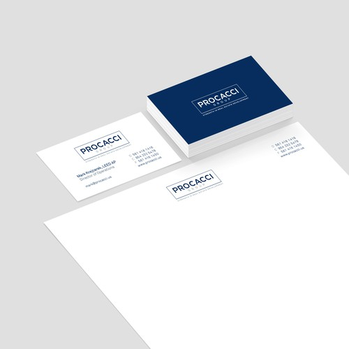 Branding design for Procacci Group
