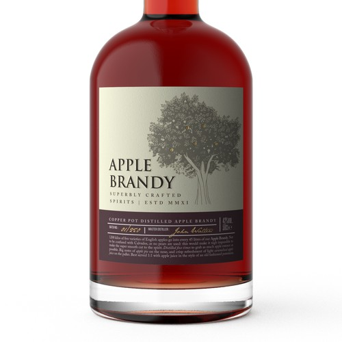 The most premium apple brandy available in the UK
