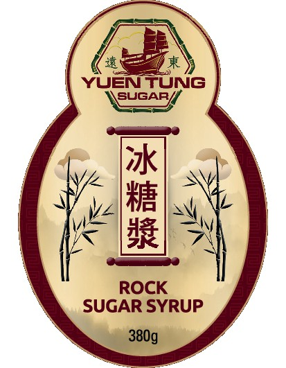 Rock Sugar Syrup Label