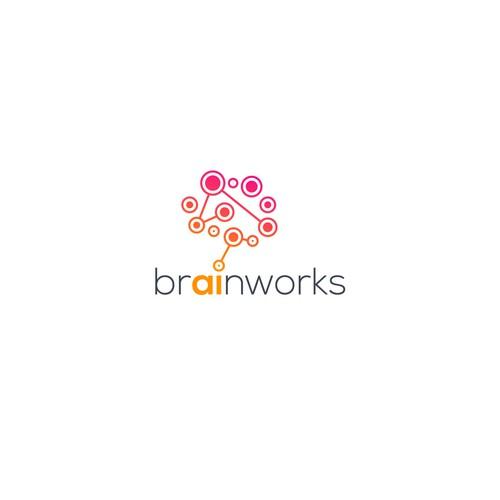 An Artificial Intelligence logo for Brainworks.
