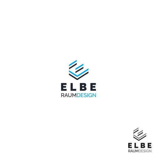 Logo for ELBE RAUMDESIGN
