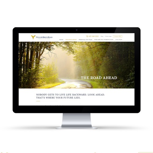 Financial Services Company Website