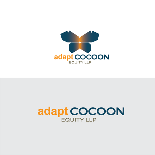 Logo for merge 2 company (adapt & Cocoon)