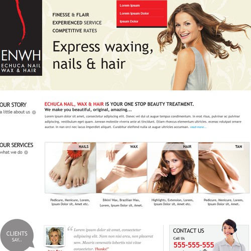 ENWH Website Design