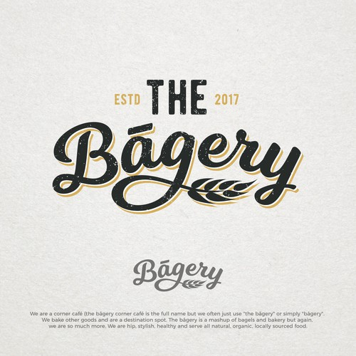 Rejected logo concepts for The Bagery.