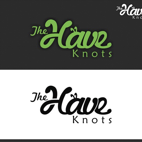 Create a capturing modern visual logo for The Have Knots