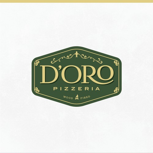 Logo for a pizzeria