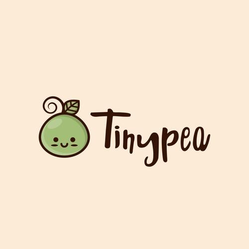 Tinypea Logo Design