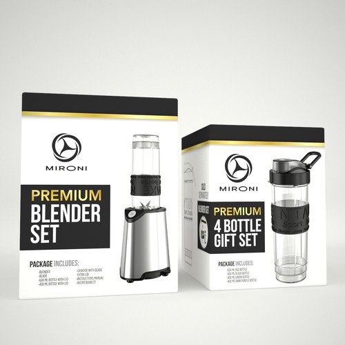 Packaging for Mironi Blender Set