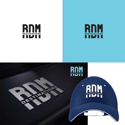 Logo concept for RDM Destination