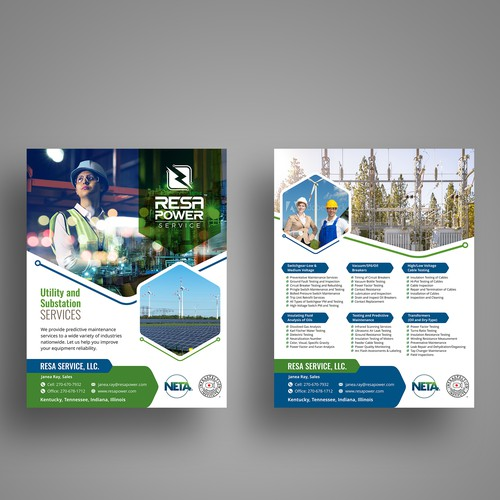 Resa Power Service Flyer