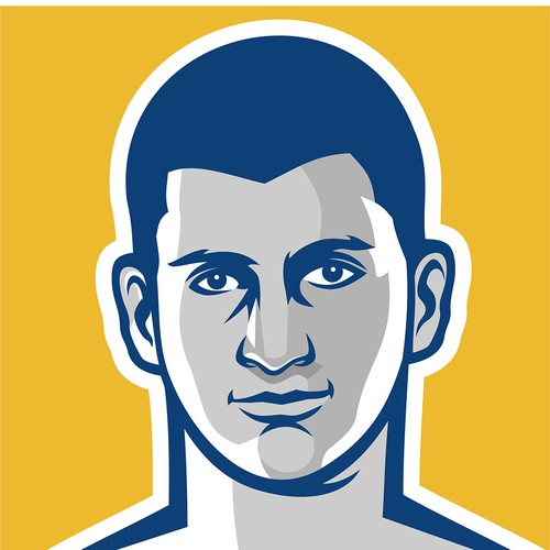 NBA player Nikola Jokic logo