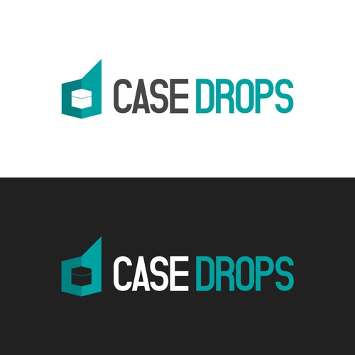 Logo concept for a case opening website