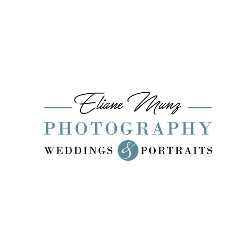 Logo para fotógrafa de bodas