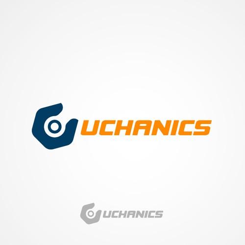 Logo concept for car repair company