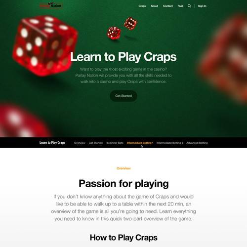 Website for ParlayNation