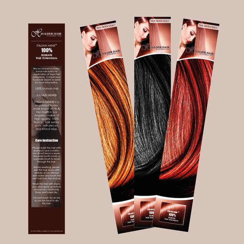 packaging hair extensions