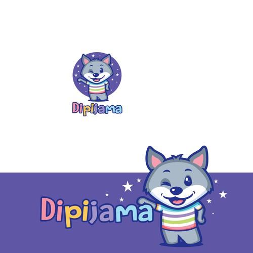 Logo for a factory for children's pajamas