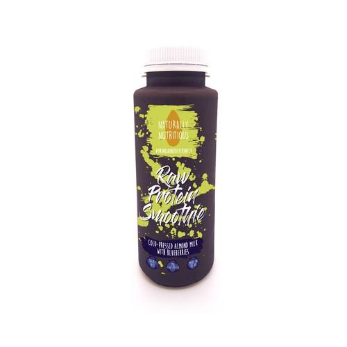 Cold pressed juice label