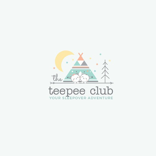 Cute/child friendly brand for a new children's sleepover party