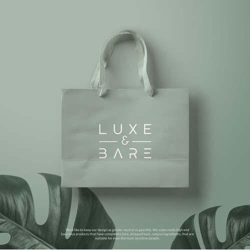Logo for LUXE & BARE