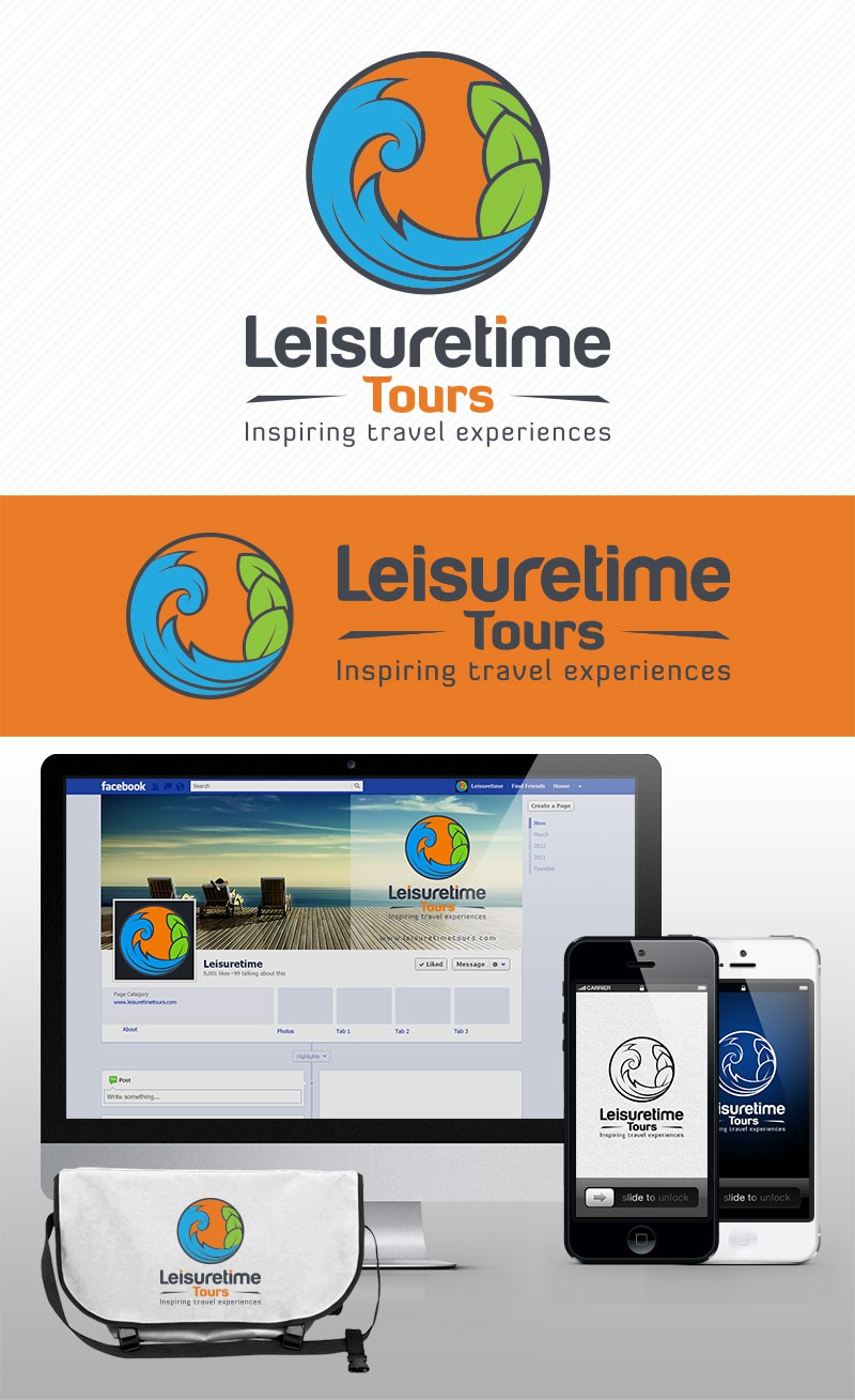 Design a logo for Leisuretime Tours