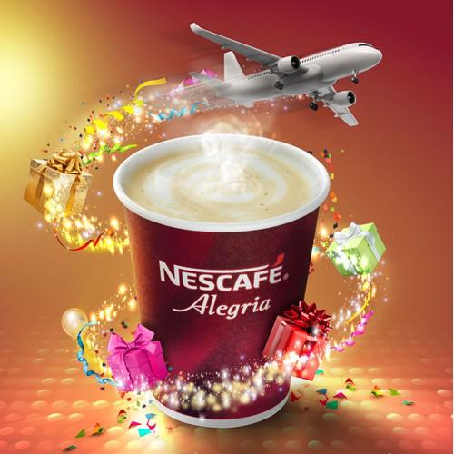 Poster Nescafe