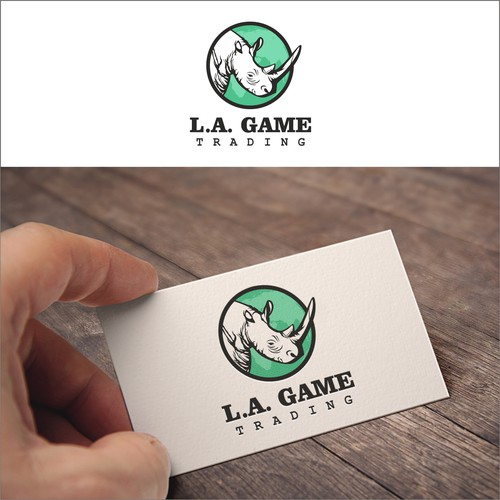 Logo For L.A. Game Traders
