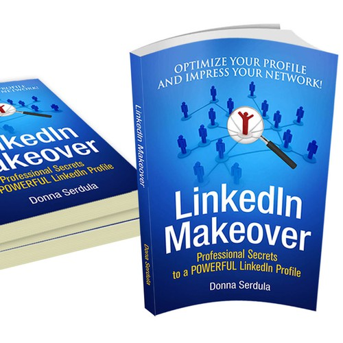 Create the 2nd Edition Book cover for LinkedIn Makeover by Donna Serdula