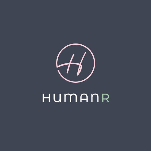 Logo Concept for Human Resources Training Course