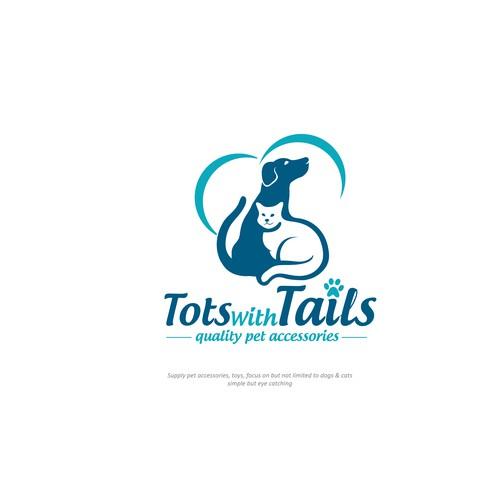 TotswithTails Logo Design