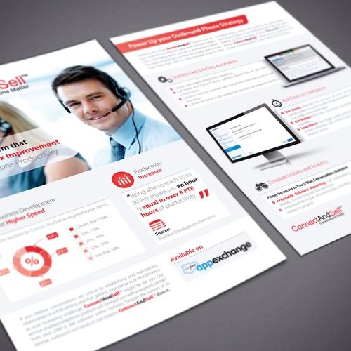 Sales brochure design