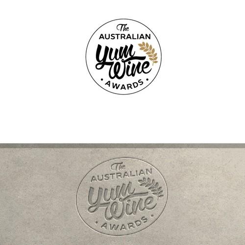 Elegant logo for Wine Awards