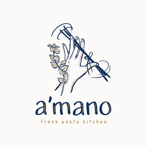 Logo for an italian restaurant