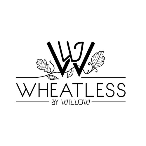 Gluten free product company logo - Wheatless by Willow
