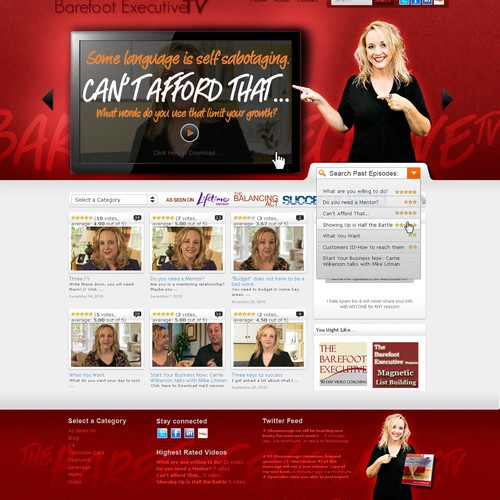 Graphic & Site Makeover (WP Theme)