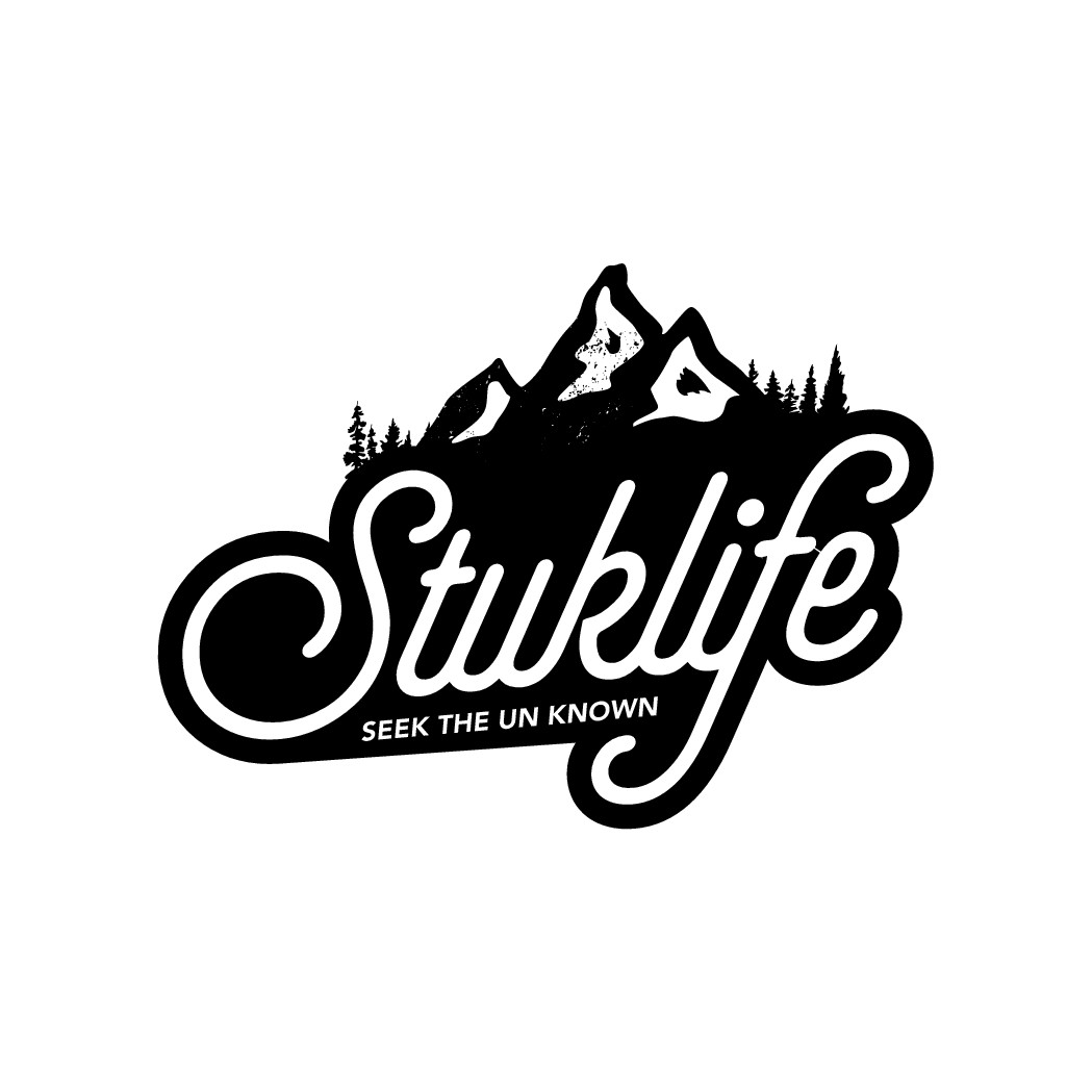 Vintage logo for adventure travel blog in the PNW United States