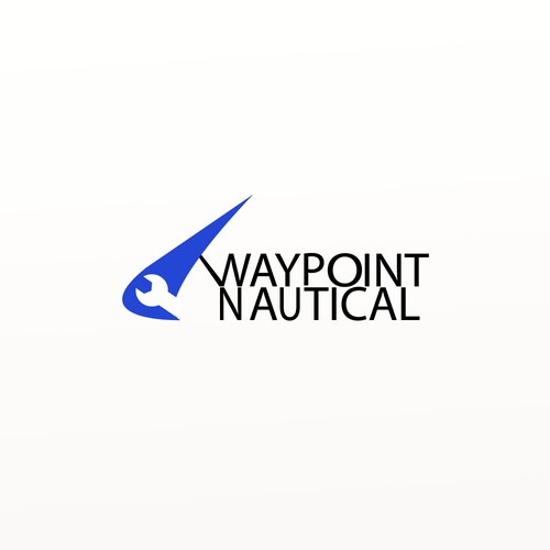 Logotype for a marine services