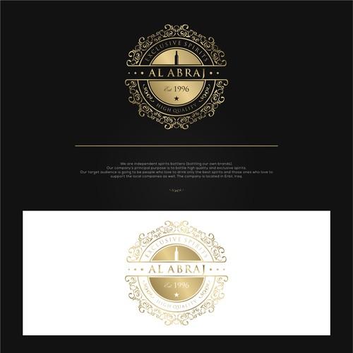 Luxurious Logo For Al ABRAJ