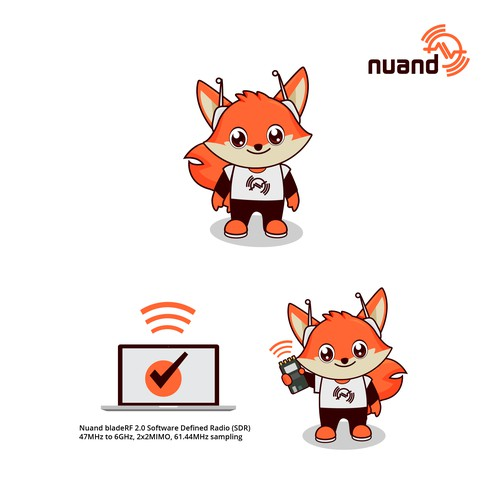 Mascot logo for open source Access Point project