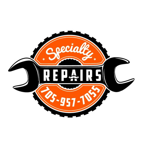 ***WANTED*** Vintage Hipster Emblem or Badge Style Repair Shop Logo