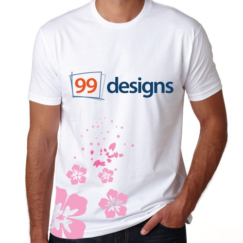 T-shirt design contest for 99design Japan