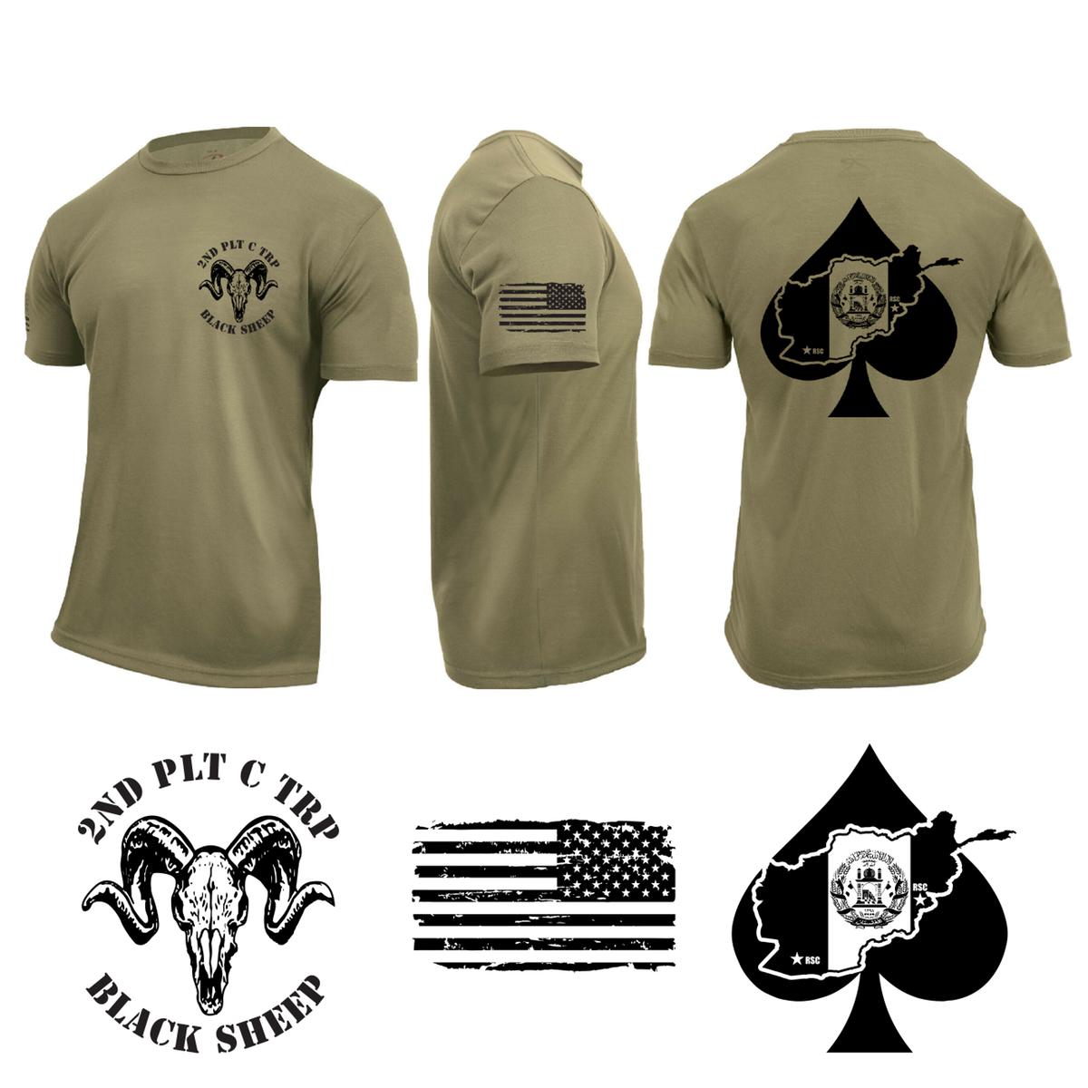 2nd PLT T-shirts