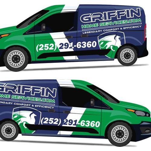Creative Company Van Wrap