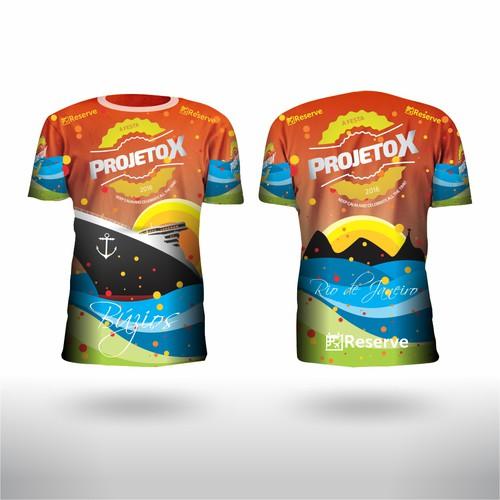 Camisa t-shirt PROJETO X