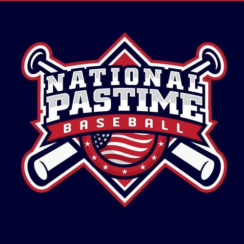 National Pastime baseball design