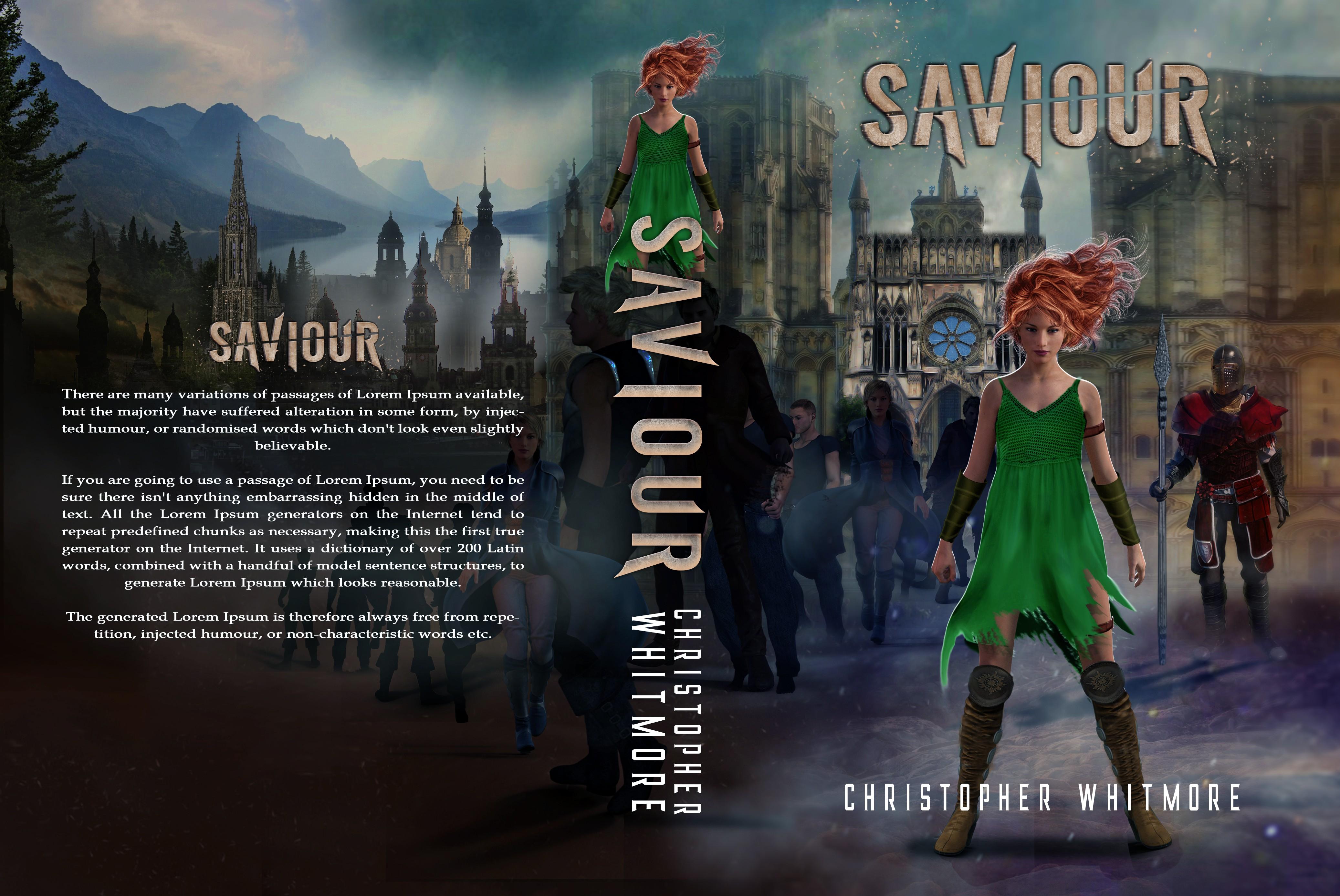 Create a cover for a new fantasy novel